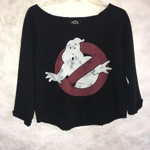 Tops - Recycled Karma Ghost buster Swearshirt top